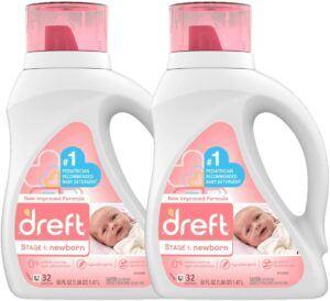 美国新生儿宝宝洗衣液推荐Newborn Hypoallergenic Liquid Baby Laundry Detergent