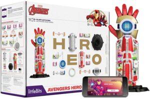 钢铁侠手臂装备玩具 Avengers Hero Inventor Kit - Kids 8+ Build & Customize Electronic Super Hero Gear