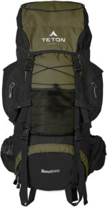 露营或登山用的旅行包 TETON Sports Scout 3400 Internal Frame Backpack