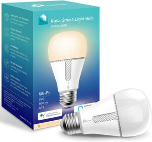 非常畅销的一款智能灯泡:Kasa Smart LED WiFi Light Bulb