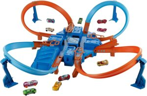 风火轮汽车玩具 Hot Wheels Criss Cross Crash Track Set