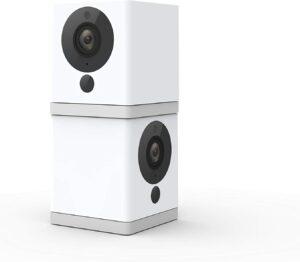 高清室内无线智能家居摄像机 Wyze Cam 1080p HD Indoor Wireless Smart Home Camera with Night Vision (Pack of 2)