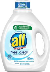 All Liquid Laundry Detergent For Sensitive Skin