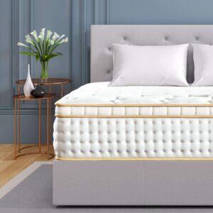 美国最佳床垫推荐BedStory 12 inch Queen Mattress, Gel Infused Memory Foam Mattress with Pocket Coil and Euro Top Bed Mattress