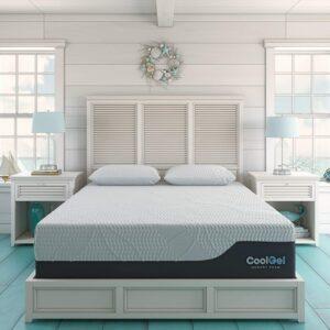床垫推荐Classic Brands 410168-8020 Cool Gel 2.0 Ultimate Gel Memory Foam 14-Inch Mattress with BONUS Pillow , Twin XL, Whit