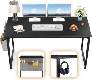 美国电脑桌推荐CubiCubi Study Computer Desk 55 Home Office Writing Desk