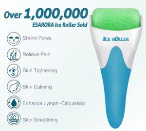 ESARORA面部冰滚轮按摩器:Ice Roller for Face & Eye