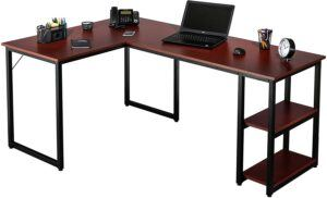 Fineboard Office L Shaped Desk Corner Computer Table