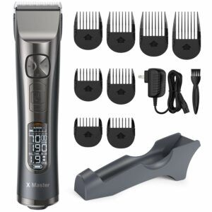Hair Clippers for Men Professional Hair Cutting Kit Cordless Trimmer