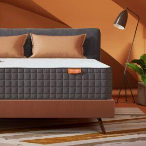 美国床垫推荐King Mattress, Sweetnight Breeze 10 Inch King Size Mattress-Infused Gel Memory Foam Mattress, Medium Firm