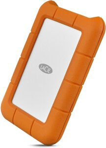 LaCie Rugged USB-C 2TB External Hard Drive Portable HDD