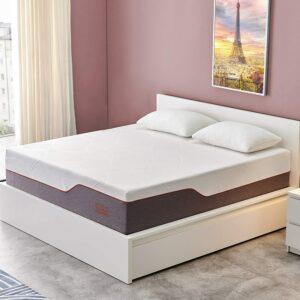 美国床垫推荐Queen Mattress, Molblly 14 inch Gel Memory Foam Mattress Bed Mattress in a Box Medium Plush