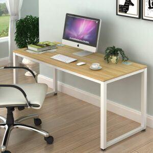 美国大型办工作推荐SHW Home Office 55-Inch Large Computer Desk