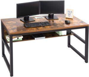 美国最佳电脑桌TOPSKY 55 Computer Desk with Bookshelf