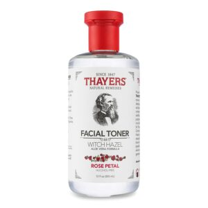 Thayers面部爽肤水Thayers Alcohol-Free Rose Petal Witch Hazel Facial Toner