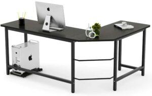 Tribesigns Modern L-Shaped Desk Corner Computer Desk