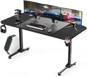 三台显示器大游戏桌推荐Vitesse 63 inch Gaming Desk