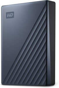 WD 4TB My Passport Ultra Blue Portable External Hard Drive