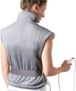 总体性能最佳:Pure Enrichment PureRelief™ XL Heating Pad for Back & Neck