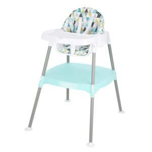 最实惠的一款的儿童餐椅:Evenflo 4-in-1 Eat & Grow Convertible High Chair