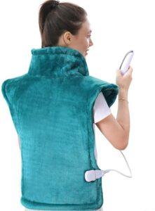 最适合颈部和背部疼痛的:Large Heating Pad for Back and Shoulder