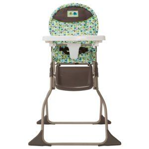 金属或塑料制作的儿童餐椅