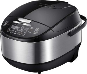 COMFEE 5.2Qt Asian Style Programmable All-in-1 Multi Cooker 电饭煲