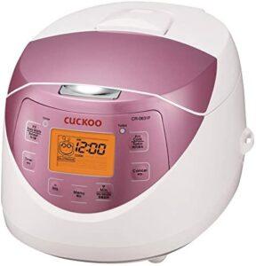 Cuckoo CR-0631F 6-cup Multifunctional Micom Rice Cooker 电饭煲