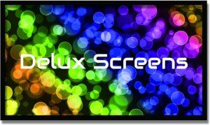 Delux Screens 支持4K,UHD,3D投影仪屏幕