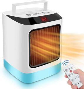 桌面暖气Destop Electric Heater Mini Energy Saving Desk Fan