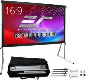 Elite Screens Yard Master 2 8K和4K 投影仪屏幕,带支架