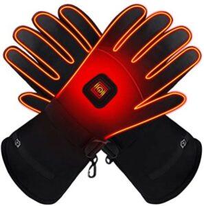 加热手套推荐GLOBAL VASION Electric Heated Gloves with Rechargeable Batteries