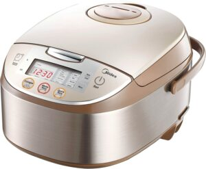 Midea 4017 12 Pre Set Multi Functional Energy Efficient Smart Rice Cooker 电饭煲