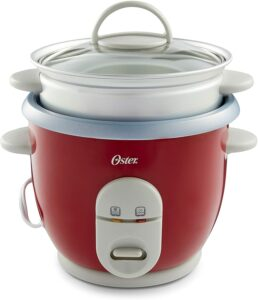 Oster 6-Cup Rice Cooker with Steamer 电饭煲