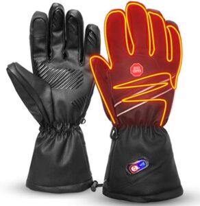 加热手套推荐Refial Heated Gloves for Men Women Keep Winter Warm
