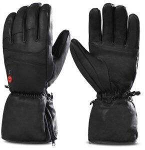 加热手套推荐Savior Heated Gloves for Men Women,Rechargeable Electric Gloves Heating Gloves for Motorcycle, Ski, Hunting, Riding