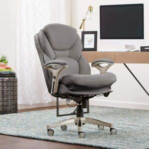 Serta Ergonomic Executive Office Chair 具有腰部支撑的办公椅
