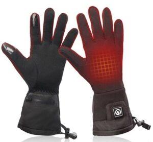 冬天加热手套推荐Snow Deer Heated Glove Liners for Men Women