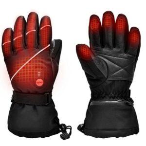 加热手套推荐Snow Deer Upgraded Heated Gloves for Men Women