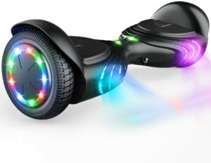 儿童非常喜欢的电动平衡车TOMOLOO Hoverboard with Bluetooth Speaker and LED Lights
