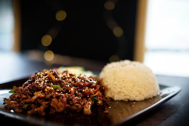 美味的米饭