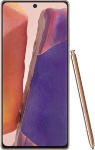 三星里面最佳的手机 Samsung Electronics Galaxy Note 20 5G