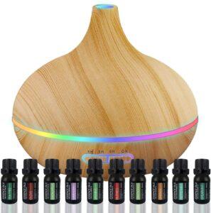 很畅销的一款香薰油机 Ultimate Aromatherapy Diffuser & Essential Oil Set