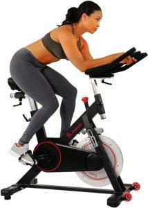 整体性最佳的健身车 Sunny Health & Fitness Magnetic Belt Drive Indoor Cycling Bike
