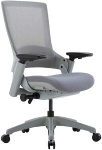 最佳坐垫柔软的网状办公椅:CLATINA Ergonomic High Swivel Executive Chair