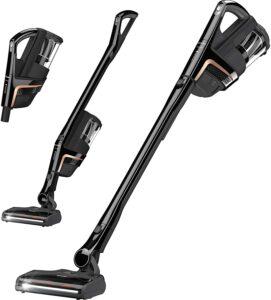 最佳宠物三合一吸尘器:Miele Triflex HX1 Cat & Dog Battery Powered Bagless Stick Vacuum, Obsidian Black