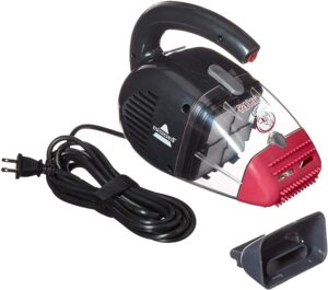最佳小型宠物吸尘器:Bissell Pet Hair Eraser Handheld Vacuum, Corded, 33A1