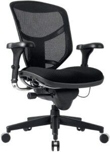 最佳腰部支撑的网状办公椅:WorkPro Quantum 9000 Series Desk Chair
