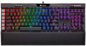 最佳触觉式开关游戏机械键盘 Corsair K95 RGB Platinum XT Mechanical Gaming Keyboard
