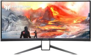 最佳超宽屏幕游戏显示器 Acer Predator X35 bmiphzx 1800R Curved 35寸UltraWide QHD Gaming Monitor
